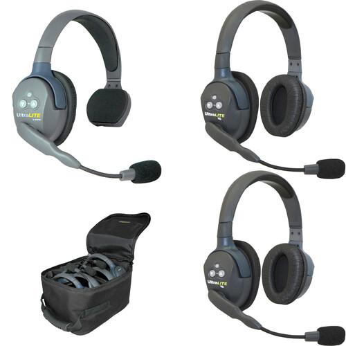Eartec UL312AU UltraLITE 3-Person Headset System (AU)