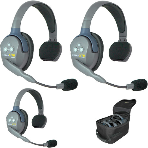 Eartec UL3SAU UltraLITE 3-Person Headset System (AU)
