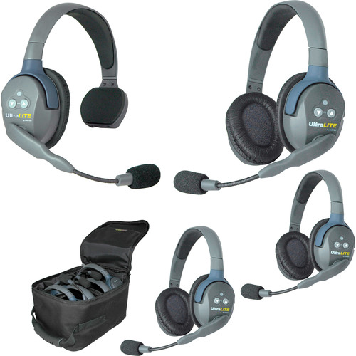 Eartec UL413 UltraLITE 4-Person Headset System (USA)