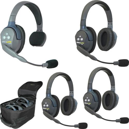 Eartec UL413AU UltraLITE 4-Person Headset System (AU)