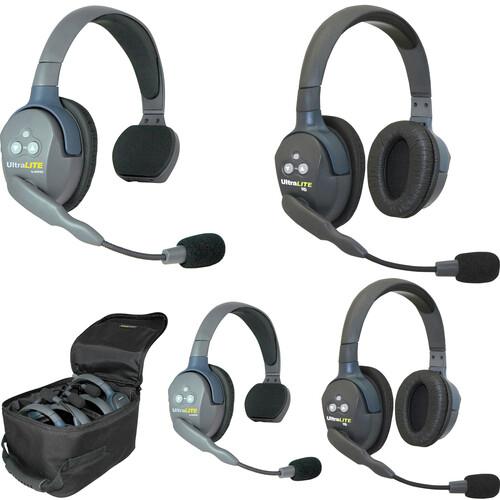 Eartec UL422AU UltraLITE 4-Person Headset System (AU)