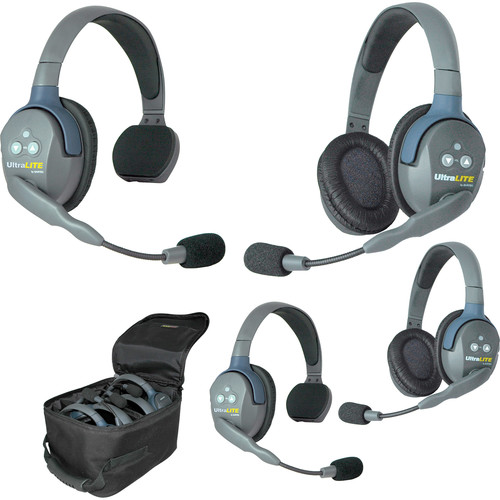 Eartec UL422EU UltraLITE 4-Person Headset System (EU)