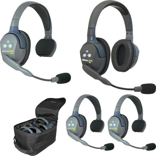 Eartec UL431AU UltraLITE 4-Person Headset System (AU)