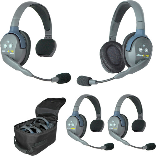 Eartec UL431EU UltraLITE 4-Person Headset System (EU)