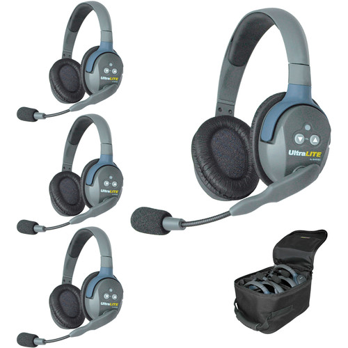 Eartec UL4DAU UltraLITE 4-Person Headset System (AU)