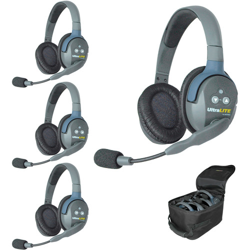 Eartec UL4DEU UltraLITE 4-Person Headset System (EU)