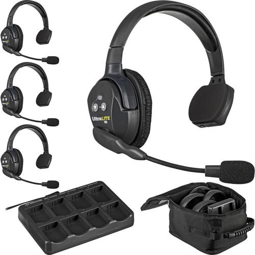 Eartec UL4SAU UltraLITE 4-Person Headset System (AU)