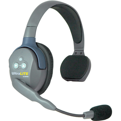 Eartec UltraLITE Single-Ear Remote Headset with Rechargeable Lithium Battery (Australian Version)