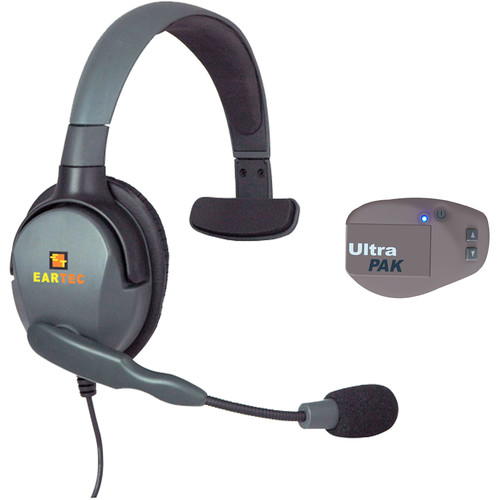 Eartec UPMX4GS1 UltraPAK Intercom System with Max 4G Single Headset (USA)
