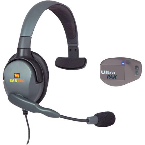 Eartec UPMX4GS1EU UltraPAK Intercom System with Max 4G Single Headset (EU)