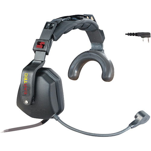 Eartec Ultra Single Headset with Inline PTT