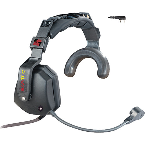 Eartec Ultra Single Headset with Shell-Mounted PTT