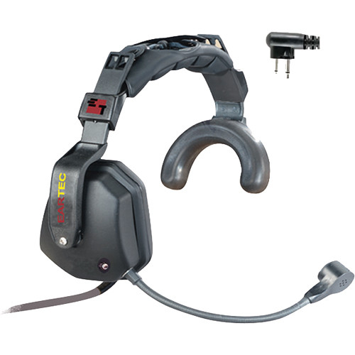Eartec Ultra Single Headset with Shell-Mount PTT & Motorola 2-Pin Connector