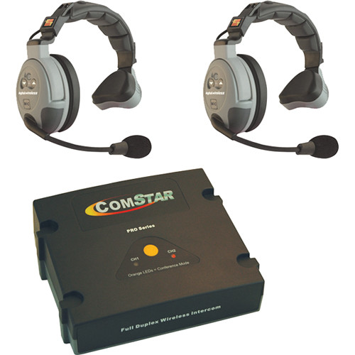 Eartec COMSTAR XT-2 2-User Full Duplex Wireless Intercom System