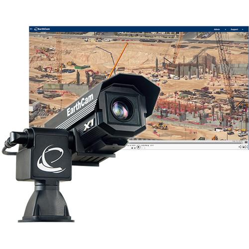 EarthCam GigapixelCam X1 Professional User-Controllable PTZ Camera