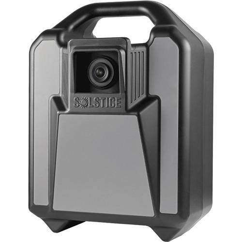 EarthCam Solstice Cam Wireless 32GB Job Site Security Camera (Stealth Black)