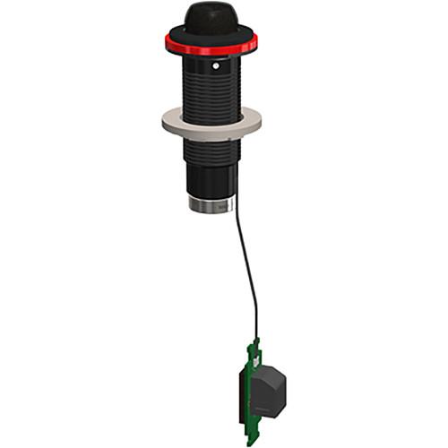 Earthworks Cardioid Directional Boundary Installation Microphone - 20Hz-30KHz (Black)