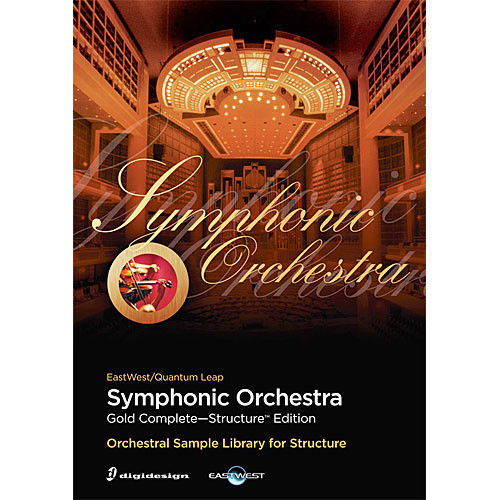 EastWest Symphony Orchestra Gold Complete - Virtual Instrument (Educational, Download)