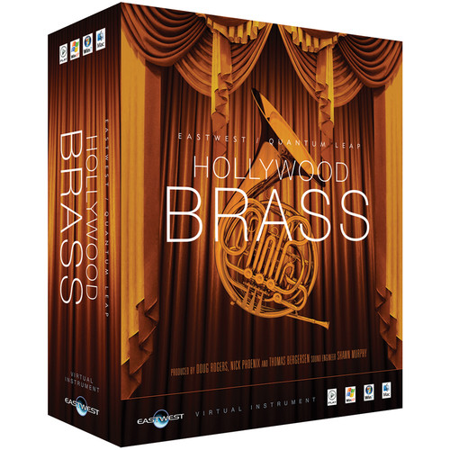 EastWest Hollywood Brass Silver Edition - Virtual Instrument (Educational, Download)