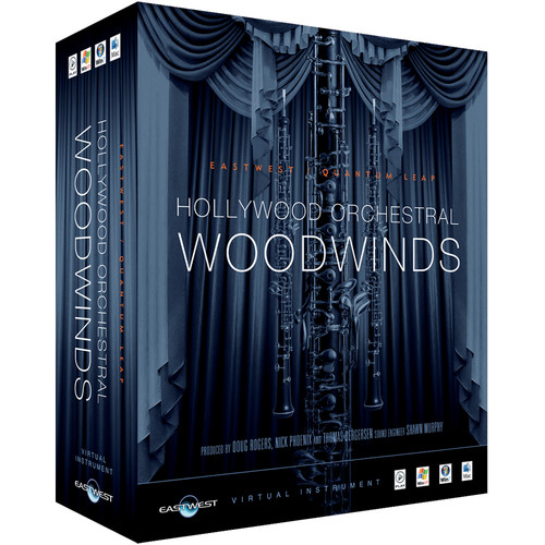 EastWest Hollywood Orchestral Woodwinds Silver Edition - Virtual Instrument (Educational, Download)