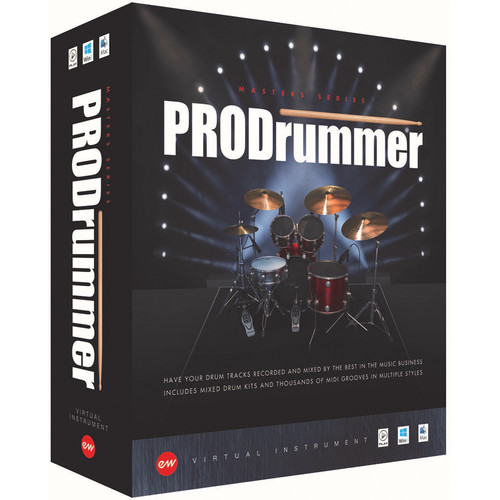 EastWest ProDrummer Volume 1 & 2 - Virtual Instruments (Educational, Download)