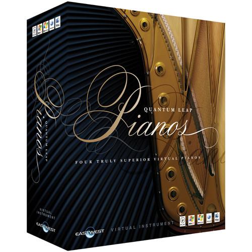 EastWest Quantum Leap Pianos Steinway D Silver - Virtual Instrument (Educational, Download)