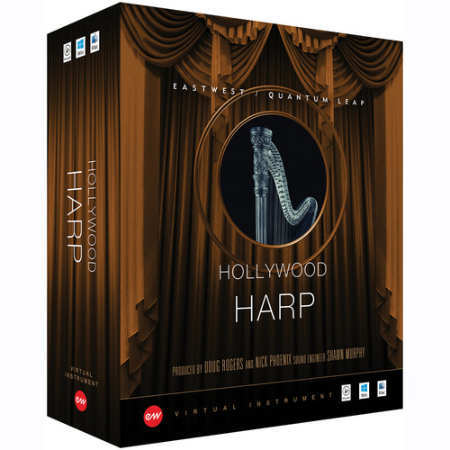 EastWest Hollywood Harp Gold Edition - Virtual Instrument (Educational, Download)