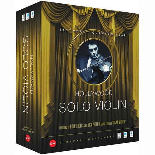 EastWest Hollywood Solo Violin Gold Edition - Virtual Instrument (Educational, Download)