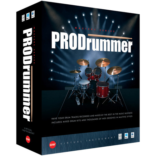 EastWest ProDrummer Volume 1 & 2 - Virtual Instruments (Download)