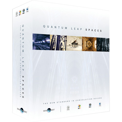 EastWest Quantum Leap Spaces - Convolution Reverb Plug-In (Download)