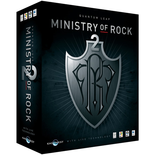 EastWest Quantum Leap Ministry of Rock 2 - Virtual Instrument (Download)