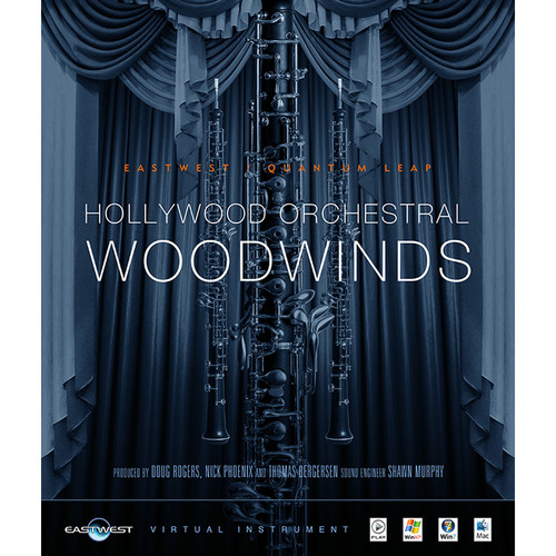 EastWest Hollywood Orchestral Woodwinds Diamond Edition - Virtual Instrument (Download)