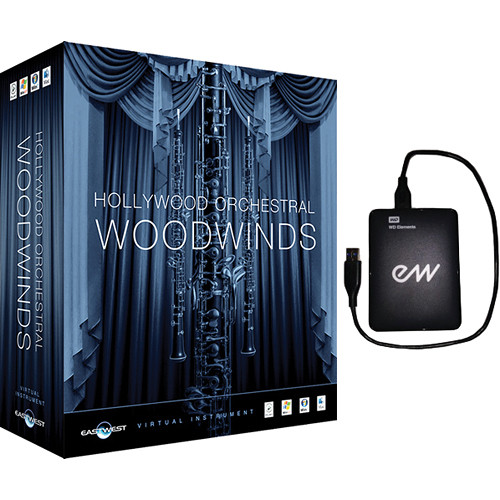 EastWest Hollywood Orchestral Woodwinds (Diamond, Mac)