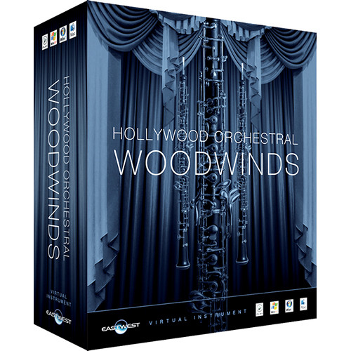 EastWest DVD: Hollywood Orchestral Woodwinds (Gold, Full License, Media Req.)