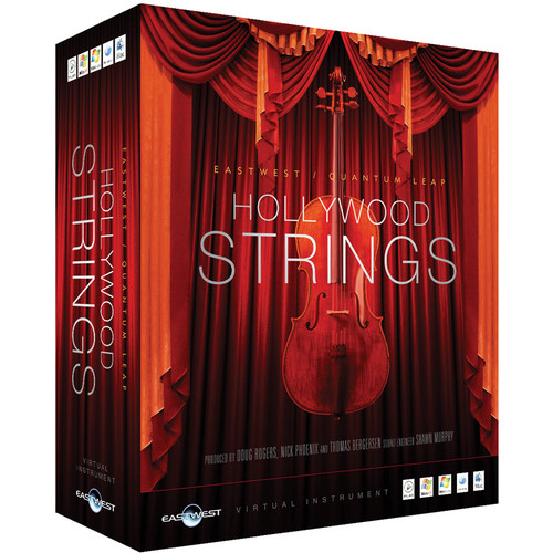EastWest Hollywood Strings Silver Edition - Virtual Instrument (Download)