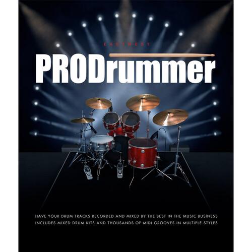 EastWest ProDrummer 1 - Virtual Instrument (Download)