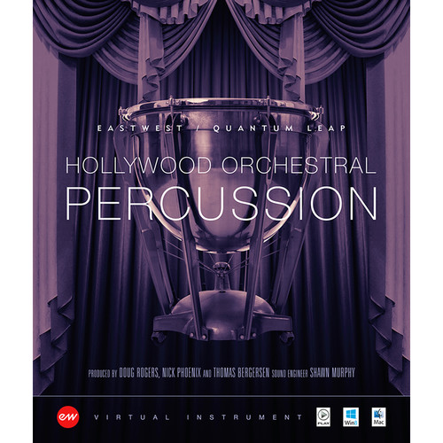 EastWest Hollywood Orchestral Percussion Diamond Edition - Virtual Instrument (Download)