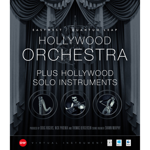 EastWest Hollywood Orchestra Diamond/Solo Instruments Bundle - Orchestral Virtual Instruments (Download)