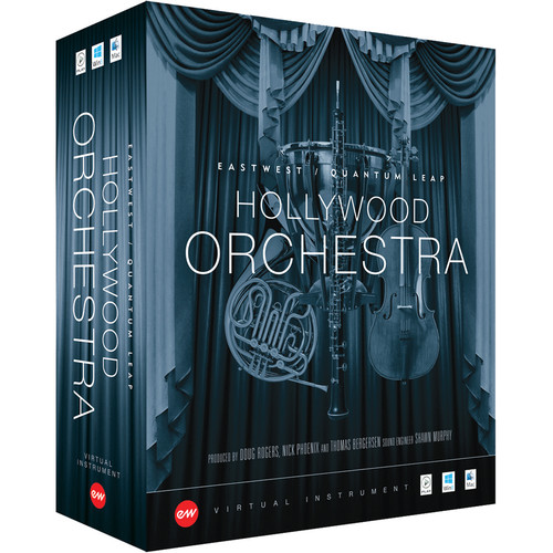 EastWest Hollywood Orchestra Silver Edition - Virtual Instrument (Download)