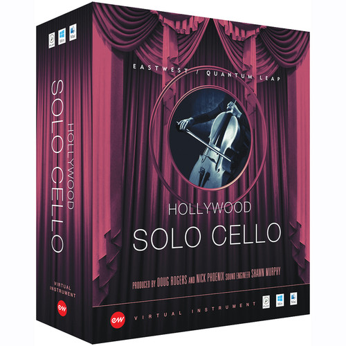EastWest Hollywood Solo Cello Gold Edition - Virtual Instrument (Download)