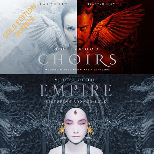 EastWest Hollywood Choirs Gold and Voices of the Empire Bundle - Virtual Instrument Plug-Ins (Download)
