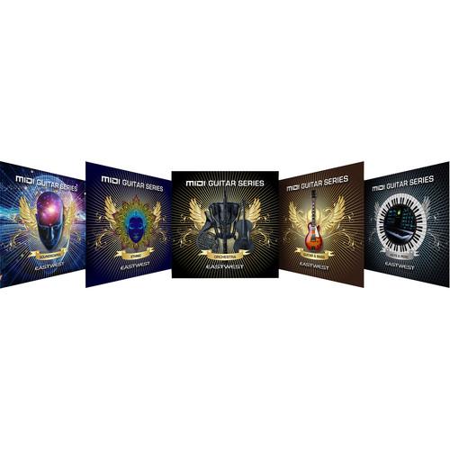 EastWest MIDI Guitar Series Bundle - Virtual Instrument Sample Libraries (Download)