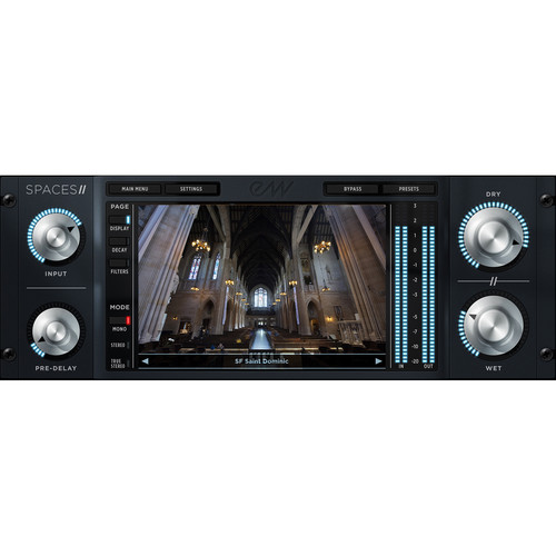 EastWest Spaces II - Convolution Reverb Plug-In (Download)