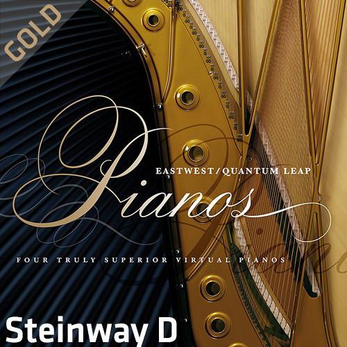 EastWest Quantum Leap Pianos Steinway D Gold Edition - Virtual Instrument (Download)
