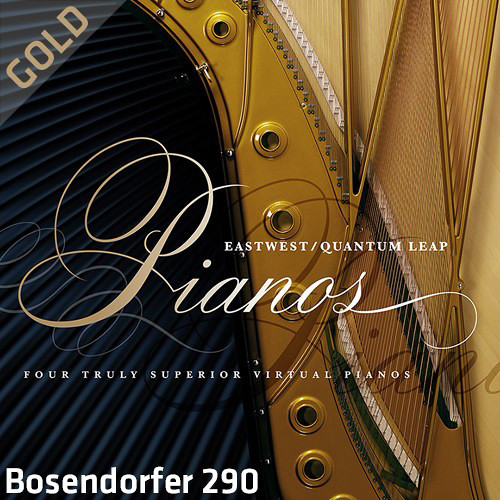 EastWest Quantum Leap Pianos Bosendorfer 290 Gold Edition - Virtual Instrument (Download)