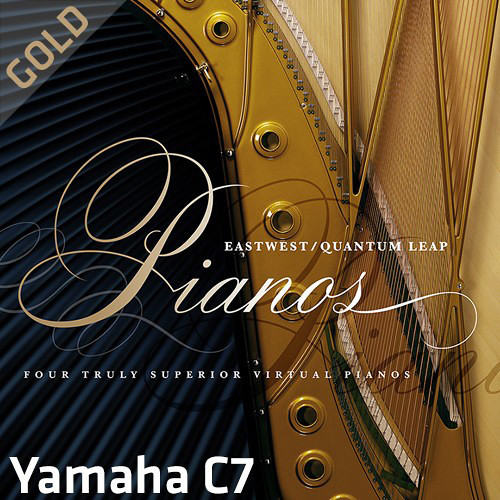 EastWest Quantum Leap Pianos Yamaha C7 Gold Edition - Virtual Instrument (Download)