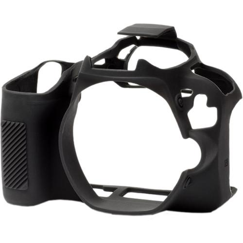 easyCover Silicone Protection Cover for Canon SL2/SL3 (Black)