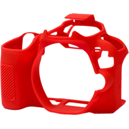 easyCover Silicone Protection Cover for Canon SL2/SL3 (Red)