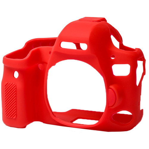 easyCover Silicone Protection Cover for Canon 6D Mark II (Red)