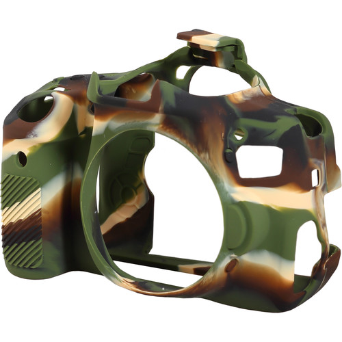 easyCover Silicone Protection Cover for Canon EOS Rebel T6i (Camo)